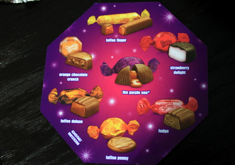 quality street chocolates flavours guide