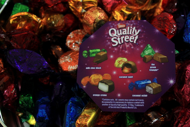 Snacking Weird Quality Street Holiday Chocolate Box